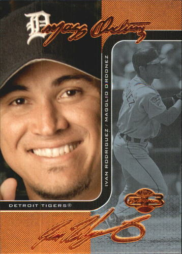 Photo of 2006 Topps Co-Signers Changing Faces Blue #71A Magglio Ordonez/Ivan Rodriguez