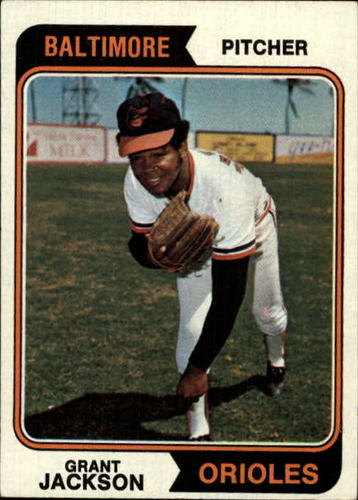 Photo of 1974 Topps #68 Grant Jackson