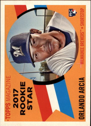 Photo of 2017 Topps Archives '60 Rookie Stars #RS2 Orlando Arcia