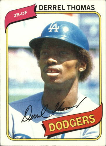 Photo of 1980 Topps #23 Derrel Thomas