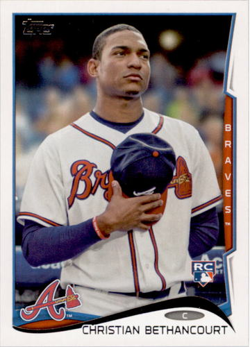 Photo of 2014 Topps #447 Christian Bethancourt RC