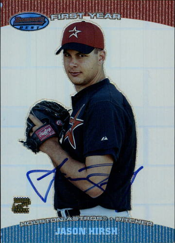 Photo of 2004 Bowman's Best #JH Jason Hirsh FY AU RC