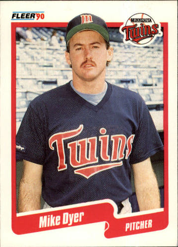 Photo of 1990 Fleer #372 Mike Dyer RC