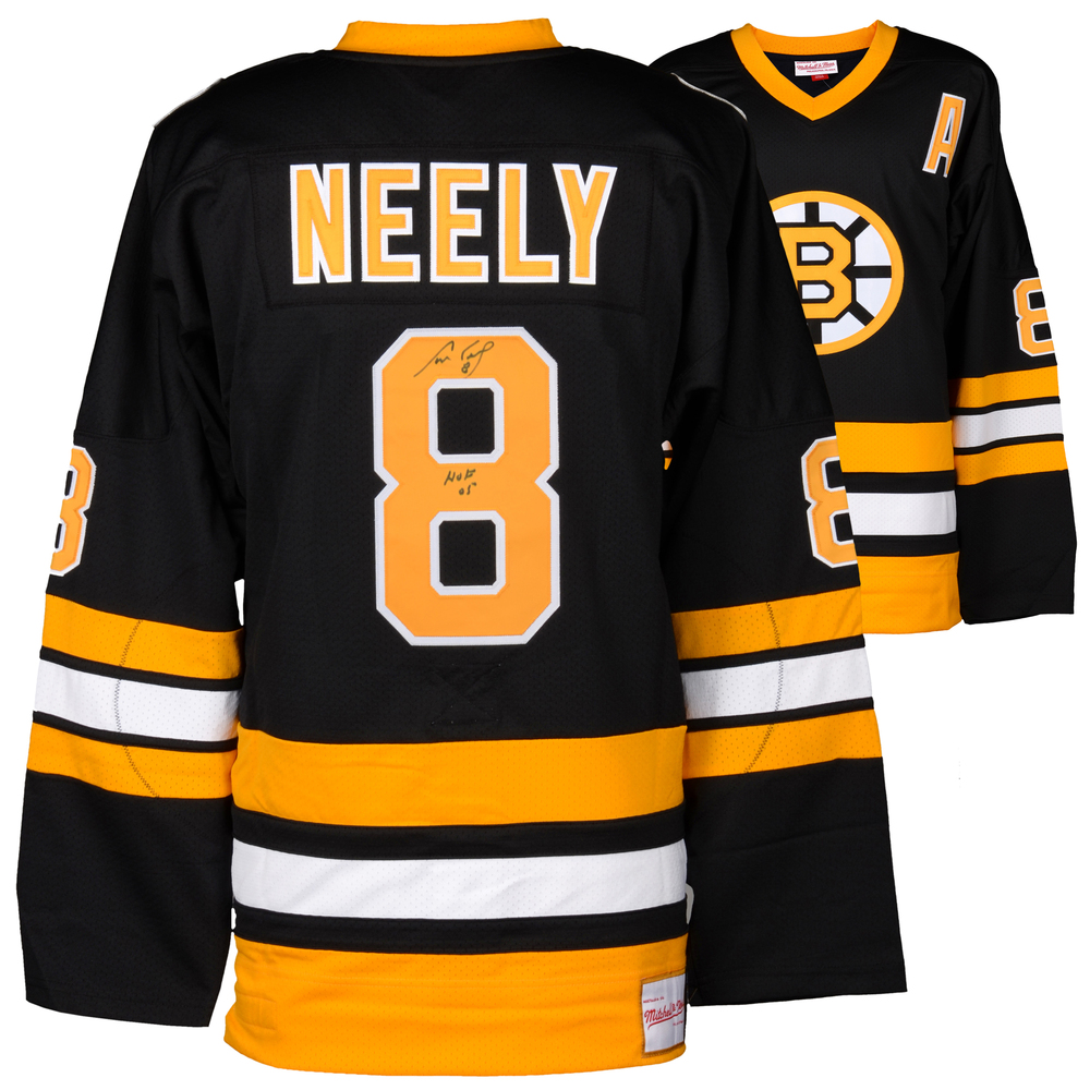 Cam Neely Boston Bruins Autographed Black Mitchell & Ness Jersey with HOF 2005 Inscription