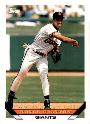 Photo of 1993 Topps #542 Royce Clayton