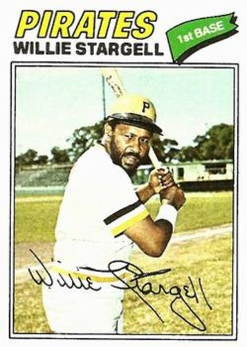 Photo of 1977 Topps #460 Willie Stargell