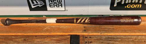 Photo of Andrew McCutchen Game-Used Broken Bat