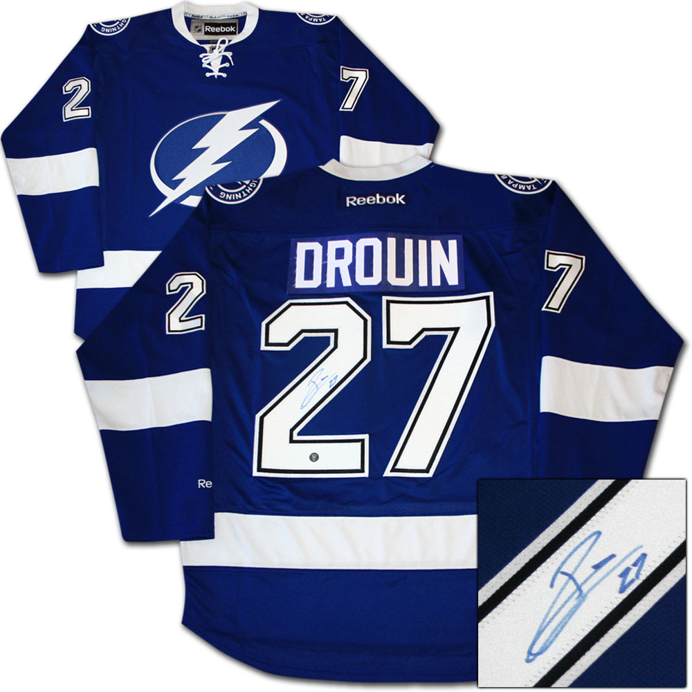 Jonathan drouin jersey - Jonathan Drouin Autographed Tampa Bay Lightning Jersey