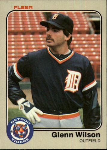 Photo of 1983 Fleer #350 Glenn Wilson