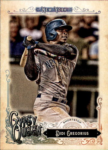 Photo of 2017 Topps Gypsy Queen #291 Didi Gregorius