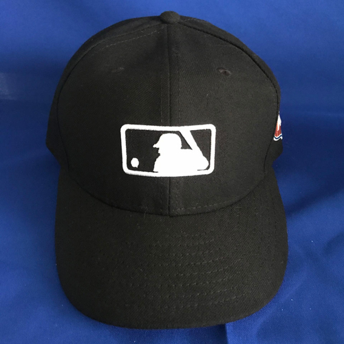 Photo of UMPS CARE AUCTION: Black MLB Hat with 2017 Spring Training Patch, Size 7 1/8