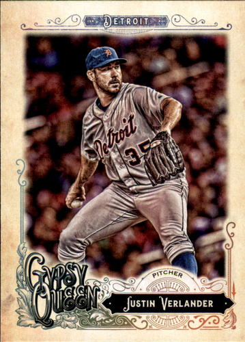 Photo of 2017 Topps Gypsy Queen #126 Justin Verlander-- Astros post-season