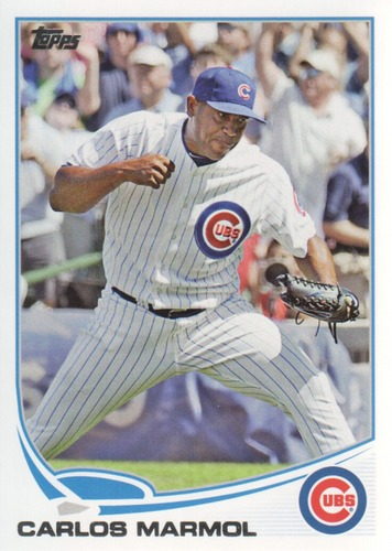 Photo of 2013 Topps #355 Carlos Marmol