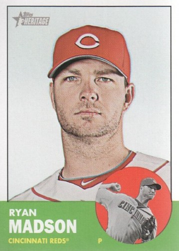 Photo of 2012 Topps Heritage #341A Ryan Madson
