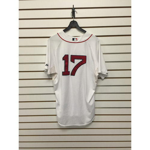 Photo of Torey Lovullo Game-Used 2015 Home Jersey