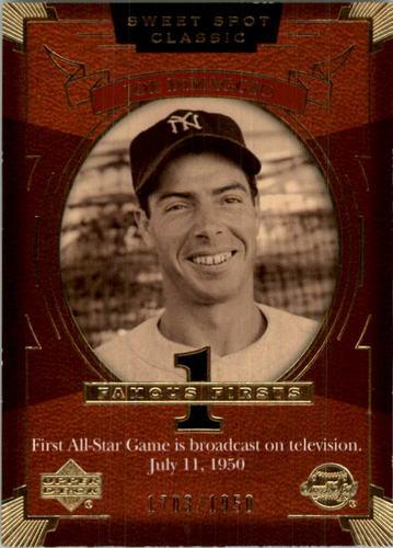 Photo of 2004 Sweet Spot Classic #160 Joe DiMaggio FF AS/1950