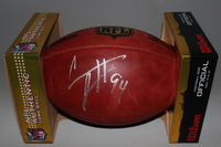 NFL - SAINTS CAMERON JORDAN SIGNED AUTHENTIC FOOTBALL