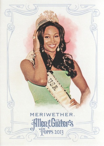 Photo of 2013 Topps Allen and Ginter #33 Nana Meriwether
