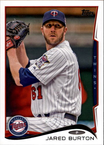 Photo of 2014 Topps Update #US224 Jared Burton