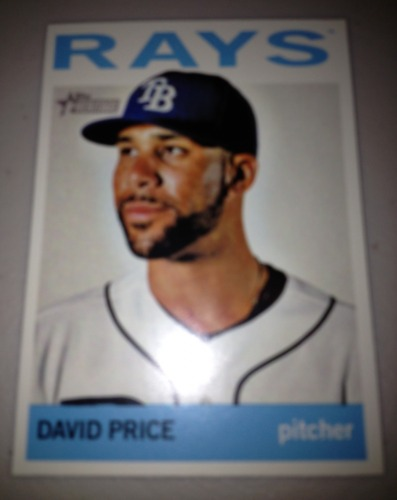 Photo of 2013 Topps Heritage #458A David Price SP