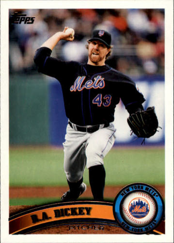 Photo of 2011 Topps #66 R.A. Dickey