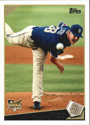 Photo of 2009 Topps Update #UH216 Mat Latos RC