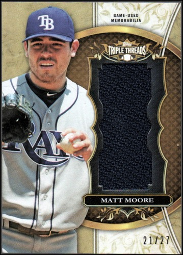 Photo of 2013 Topps Triple Threads Unity Relics Sepia #MMA1 Matt Moore