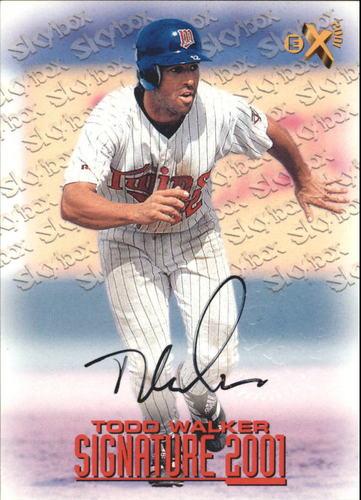 Photo of 1998 E-X2001 Signature 2001 #6 Todd Walker