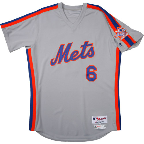 Photo of New York Mets 1986 Throwback Complete Game-Used Uniform Set - Pat Roessler