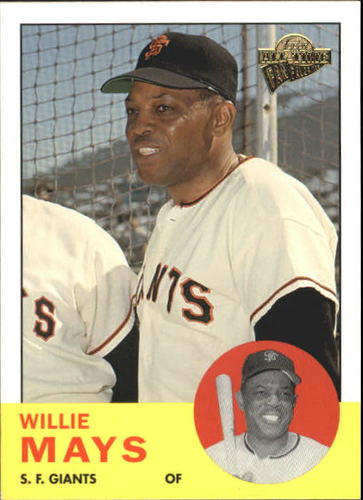 Photo of 2004 Topps All-Time Fan Favorites #1 Willie Mays