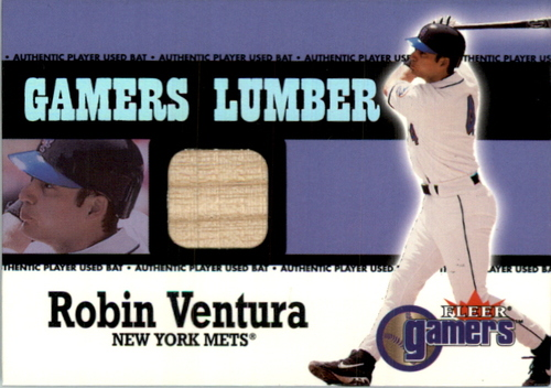 Photo of 2000 Fleer Gamers Signed Lumber #12 Robin Ventura
