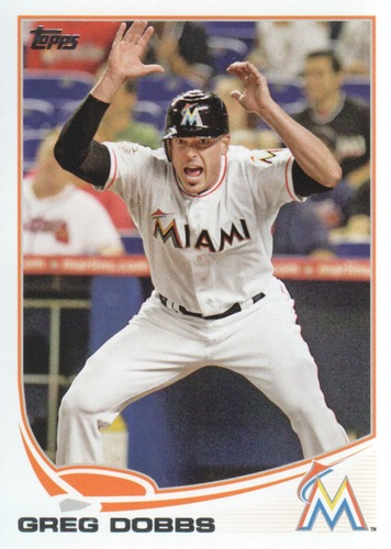 Photo of 2013 Topps #356 Greg Dobbs