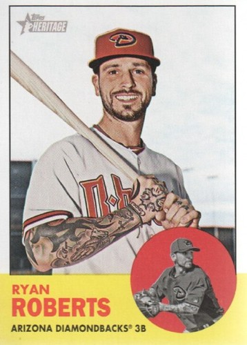 Photo of 2012 Topps Heritage #305 Ryan Roberts