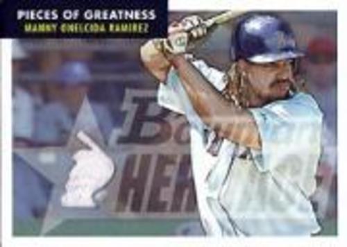 Photo of 2007 Bowman Heritage Pieces of Greatness #MR Manny Ramirez Jsy C