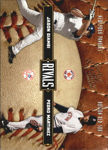Photo of 2004 Leather and Lumber Rivals #13 P.Martinez/J.Giambi