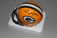 NFL - PACKERS CLAY MATTHEWS SIGNED PACKERS MINI HELMET