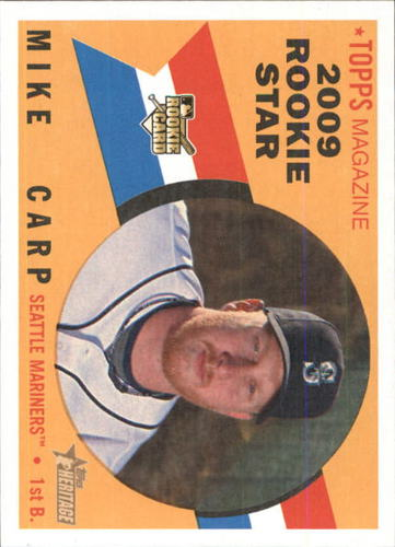 Photo of 2009 Topps Heritage #643 Mike Carp (RC)