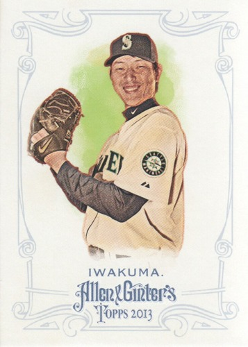 Photo of 2013 Topps Allen and Ginter #41 Hisashi Iwakuma