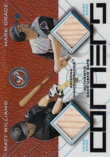 Photo of 2003 Topps Pristine Corners Relics #WG Matt Williams Bat/Mark Grace Bat