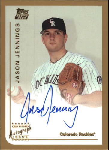Photo of 1999 Topps Traded Autographs #T70 Jason Jennings