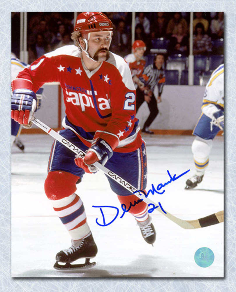 Dennis Maruk Washington Capitals Autographed 8x10 Photo