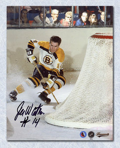 JOE WATSON Boston Bruins SIGNED 8x10 Photo