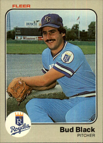 Photo of 1983 Fleer #107 Bud Black RC