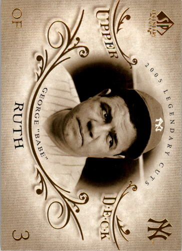 Photo of 2005 SP Legendary Cuts #2 Babe Ruth -- New York Yankees