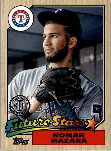 Photo of 2017 Topps '87 Topps #3 Nomar Mazara