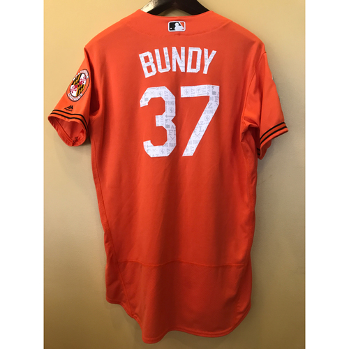 Photo of Dylan Bundy - 2017 Spring Training Jersey: Game-Used