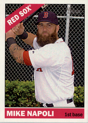 Photo of 2015 Topps Heritage #281 Mike Napoli