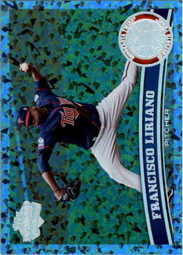 Photo of 2011 Topps Hope Diamond Anniversary #350A Francisco Liriano