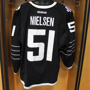 Frans Nielsen - Game Worn Third Jersey - 2015-16 Season - New York Islanders