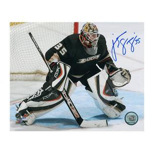 J. S. GIGUERE Signed Anaheim Ducks 8 X 10 Photo - 70176